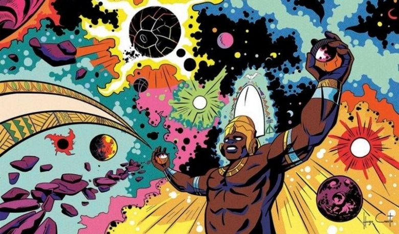A brazilian Artist is turning African Gods into superheroes