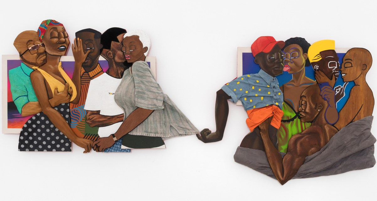 Dimensional Sculptural Paintings by Dada Khanyisa