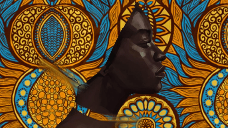 Incredible Textured Paintings by Adekunle