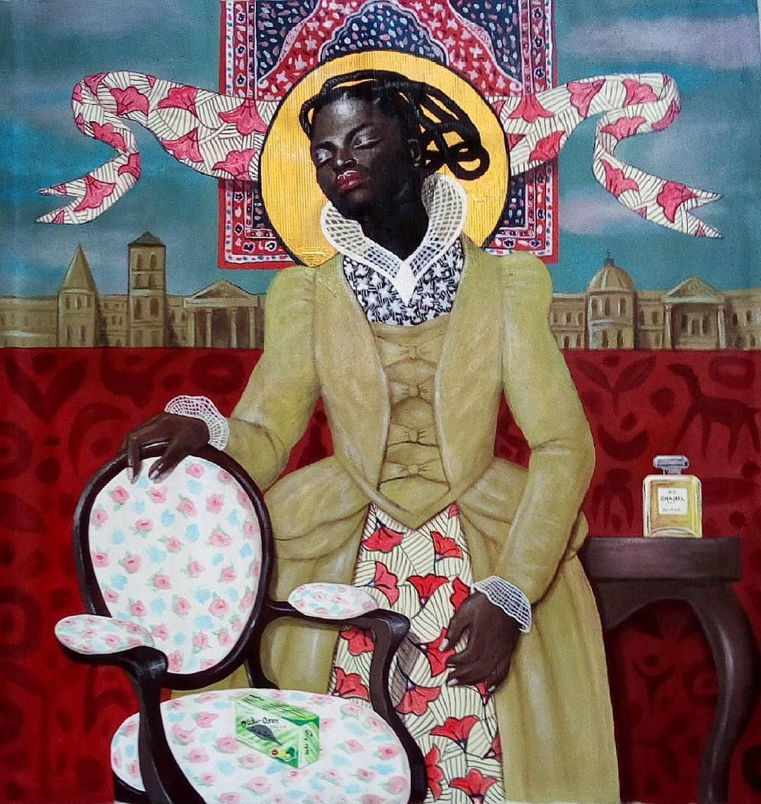 Joseph Eze's Portraitures Celebrate African Women