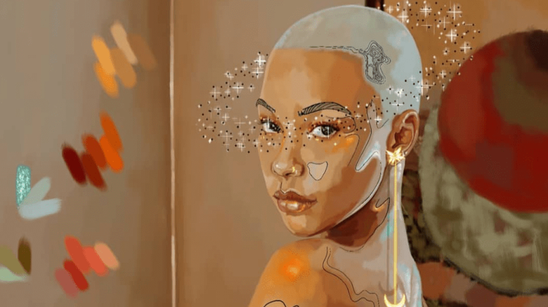 South African Illustrator and Digital Artist Ofentse Aobakwe