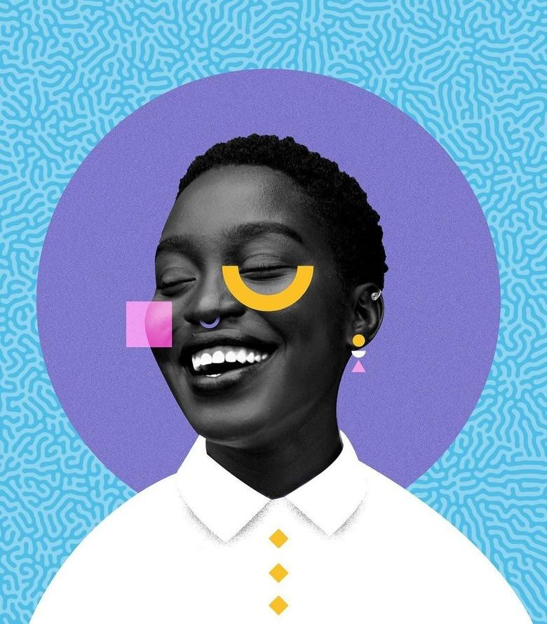 Vibrant Graphic Art by Temi Coker
