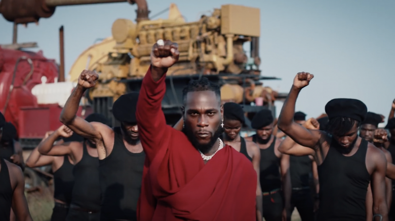 "Watch the Video to Burna Boy's Politically Charged Record, ""Monsters You Made"""