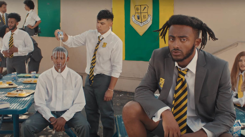 Its Back to School for Aminé on New Music Video for Blackjack (Music Video)